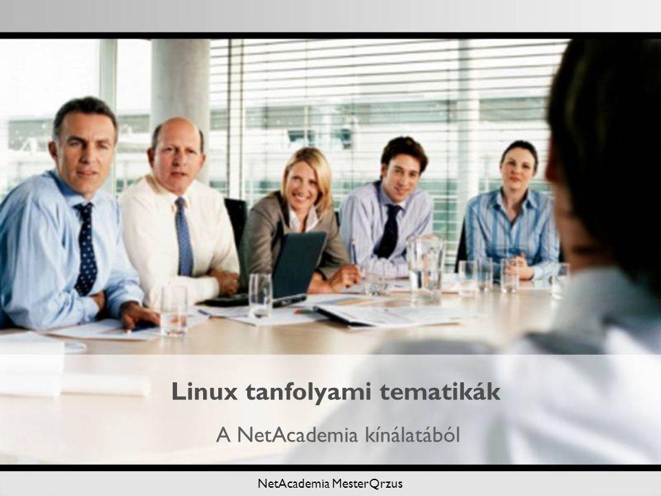 Linux tanfolyami tematikák
