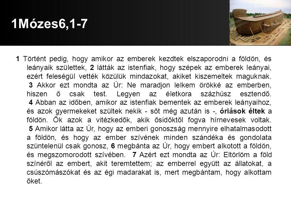 1Mózes6,1-7
