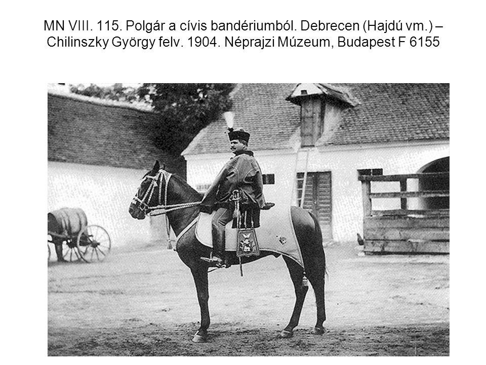 MN VIII. 115. Polgár a cívis bandériumból. Debrecen (Hajdú vm