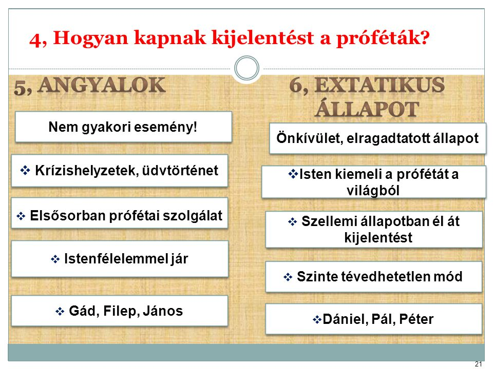 5, ANGYALOK 6, EXTATIKUS ÁLLAPOT