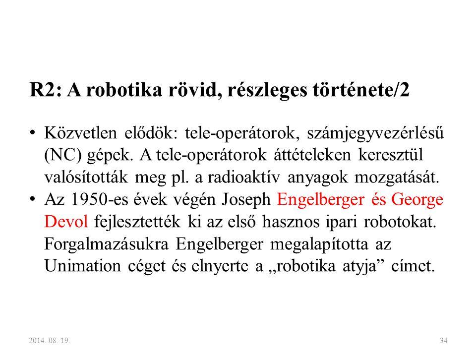 R2: A robotika rövid, részleges története/2