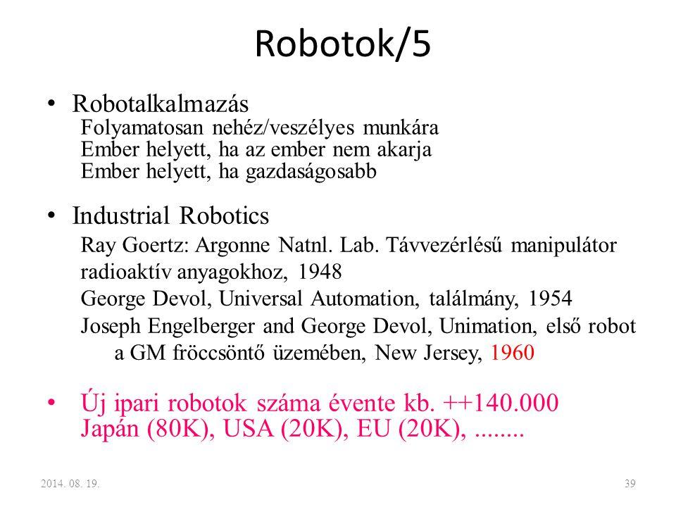 Robotok/5 Robotalkalmazás Industrial Robotics