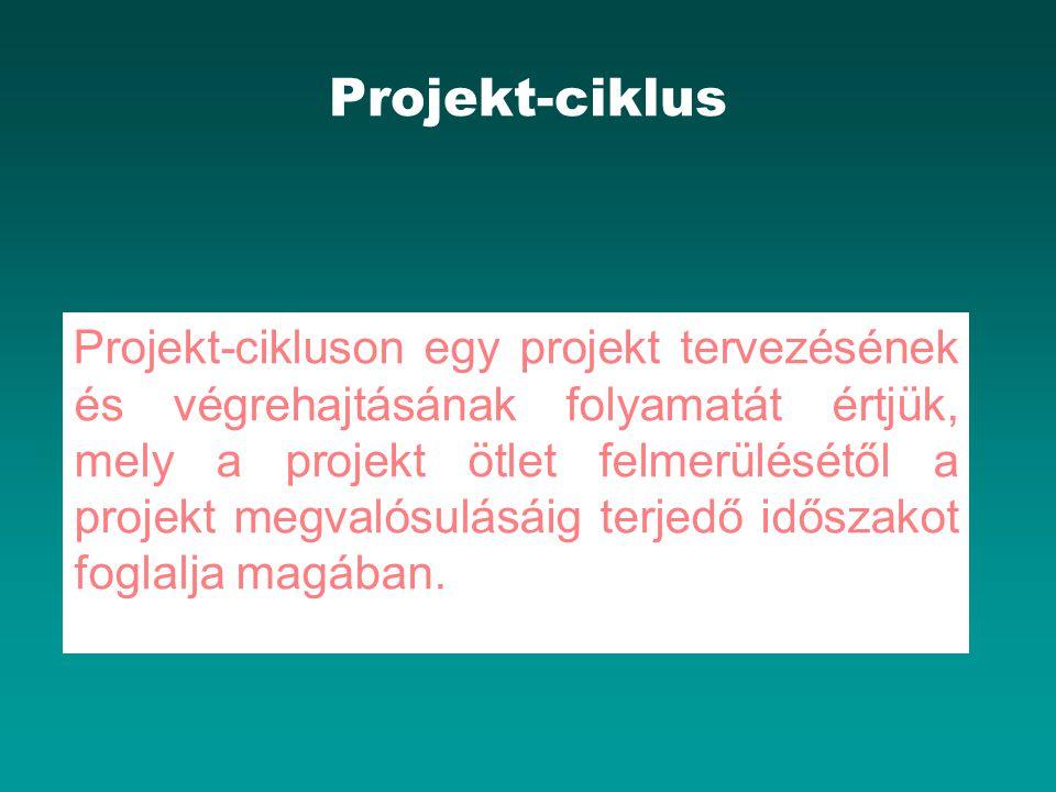 Projekt-ciklus