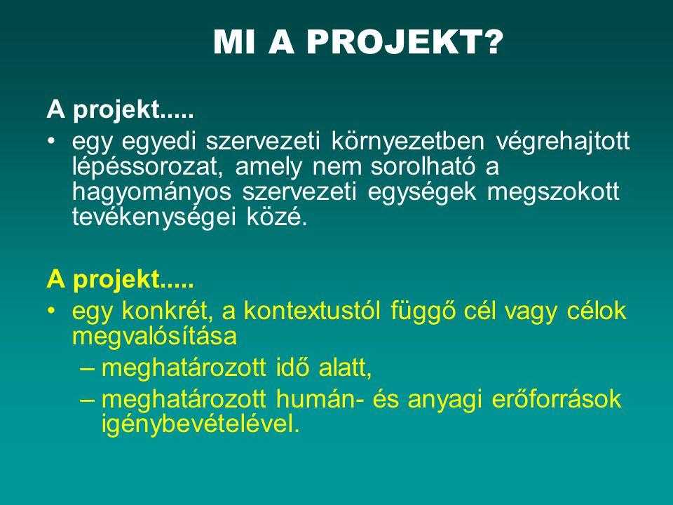 MI A PROJEKT A projekt.....