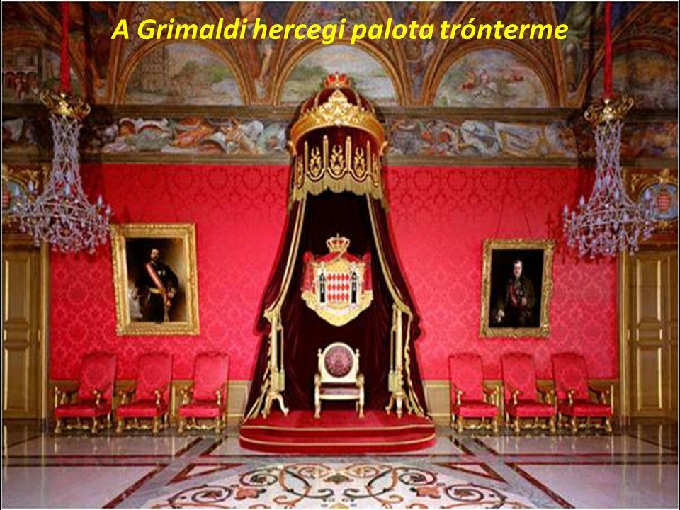 A Grimaldi hercegi palota trónterme