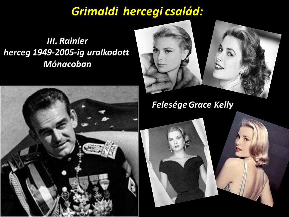 Grimaldi hercegi család: