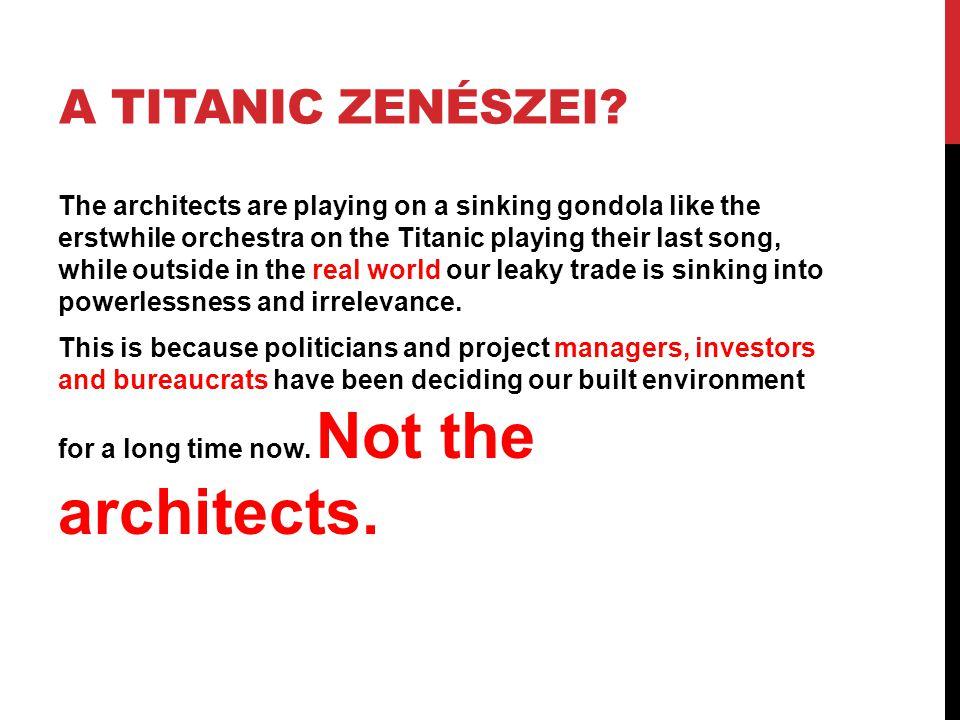 A Titanic zenészei