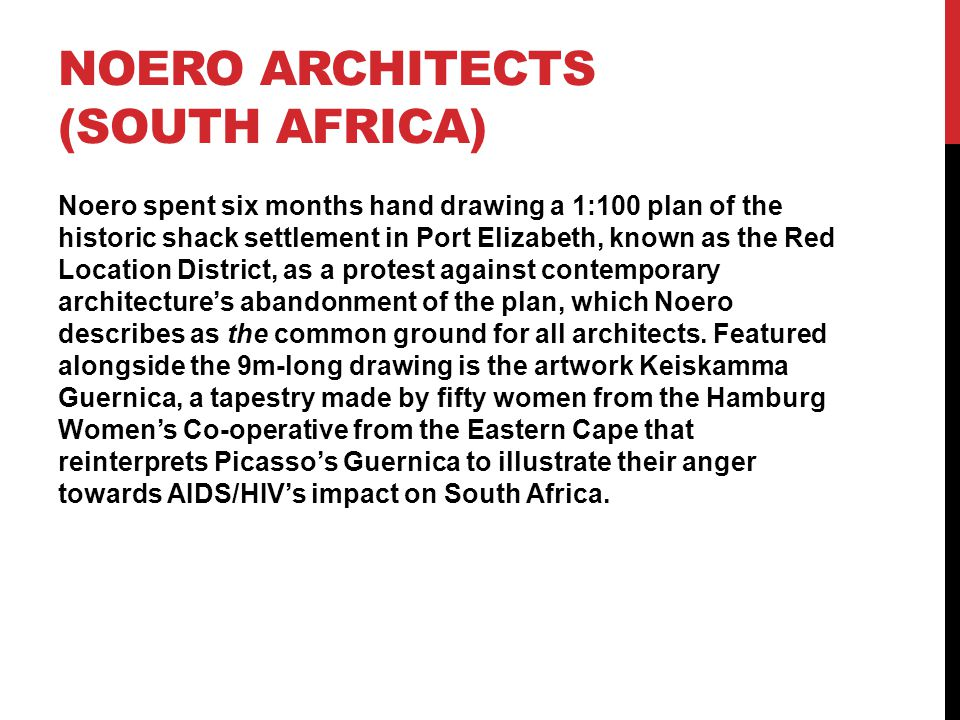 Noero Architects (south Africa)