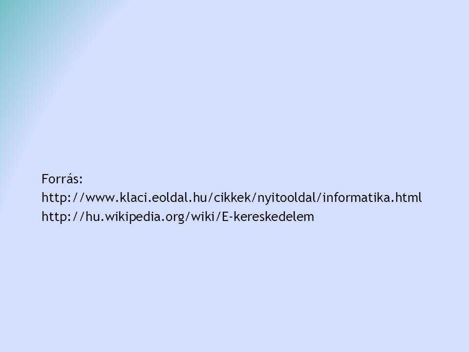 Forrás: http://www.klaci.eoldal.hu/cikkek/nyitooldal/informatika.html.