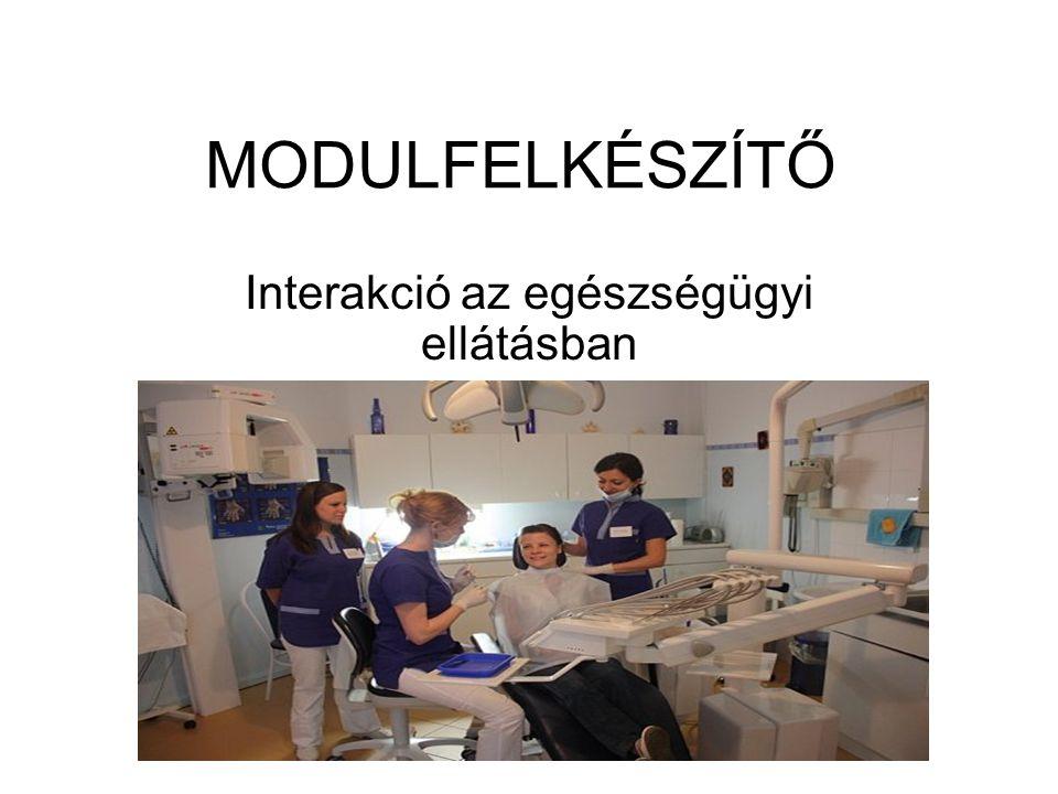 Interakció az egészségügyi ellátásban