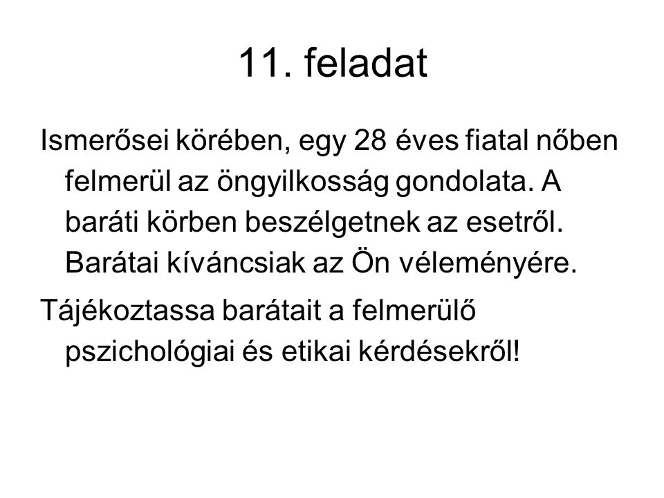 11. feladat