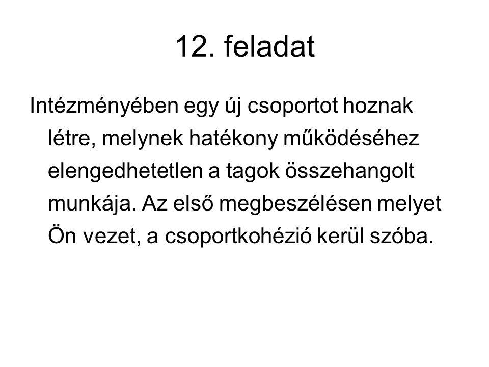 12. feladat