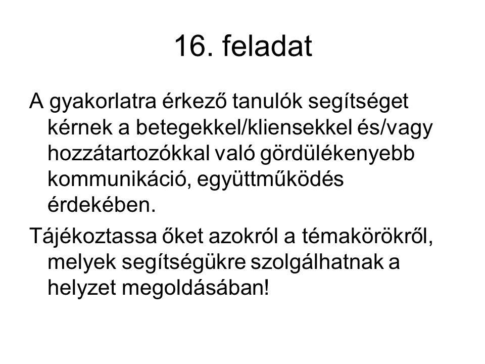 16. feladat