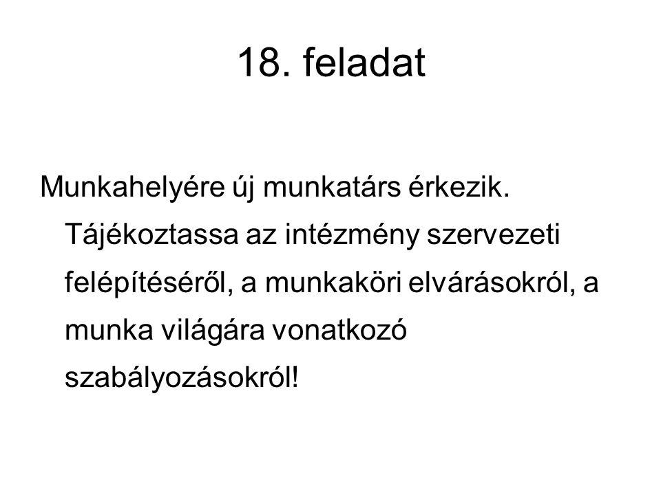 18. feladat
