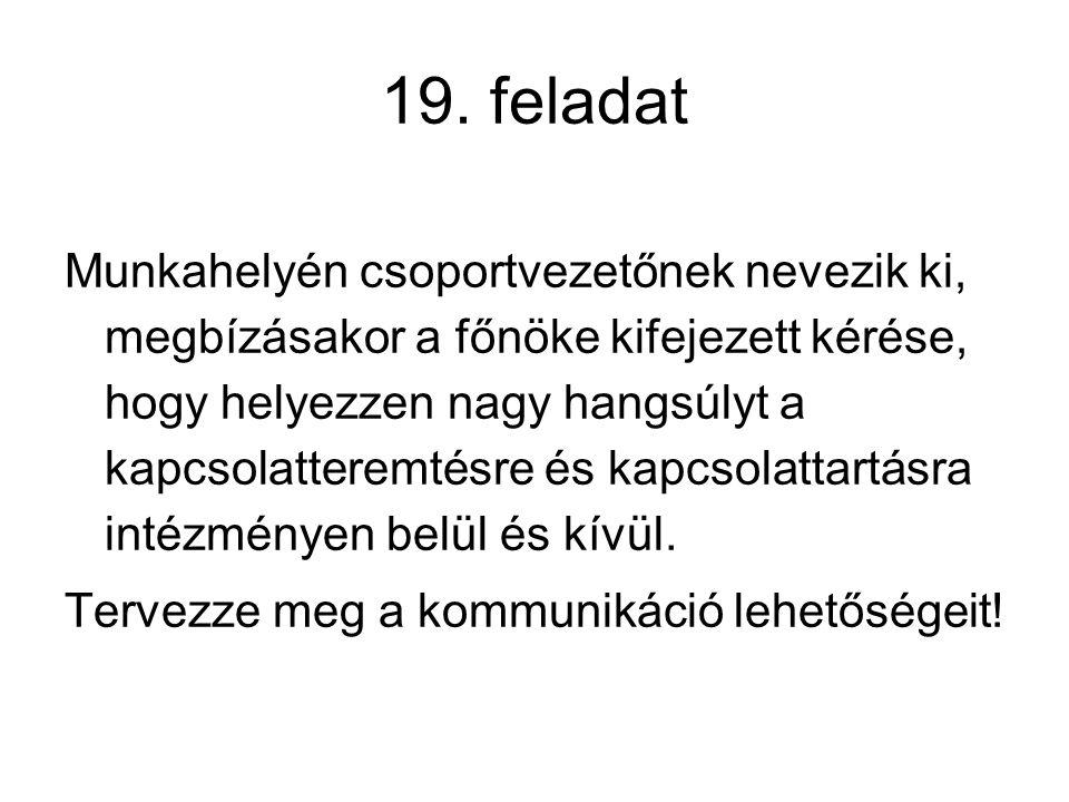 19. feladat
