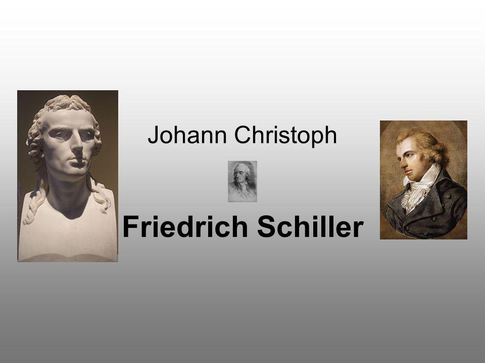 Johann Christoph Friedrich Schiller