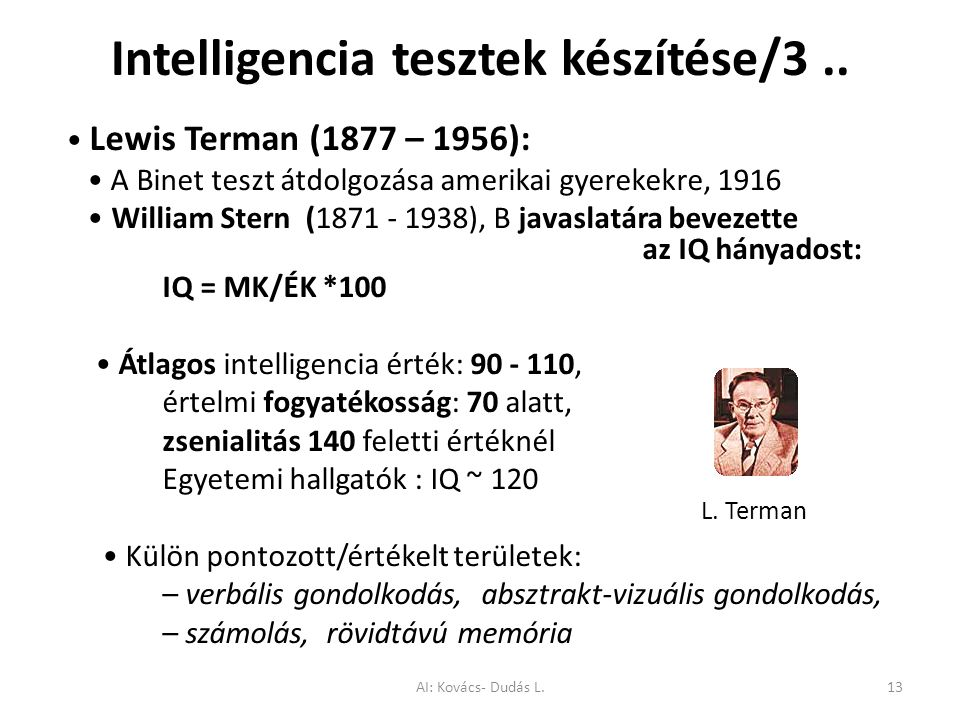 Intelligencia tesztek készítése/3 ..