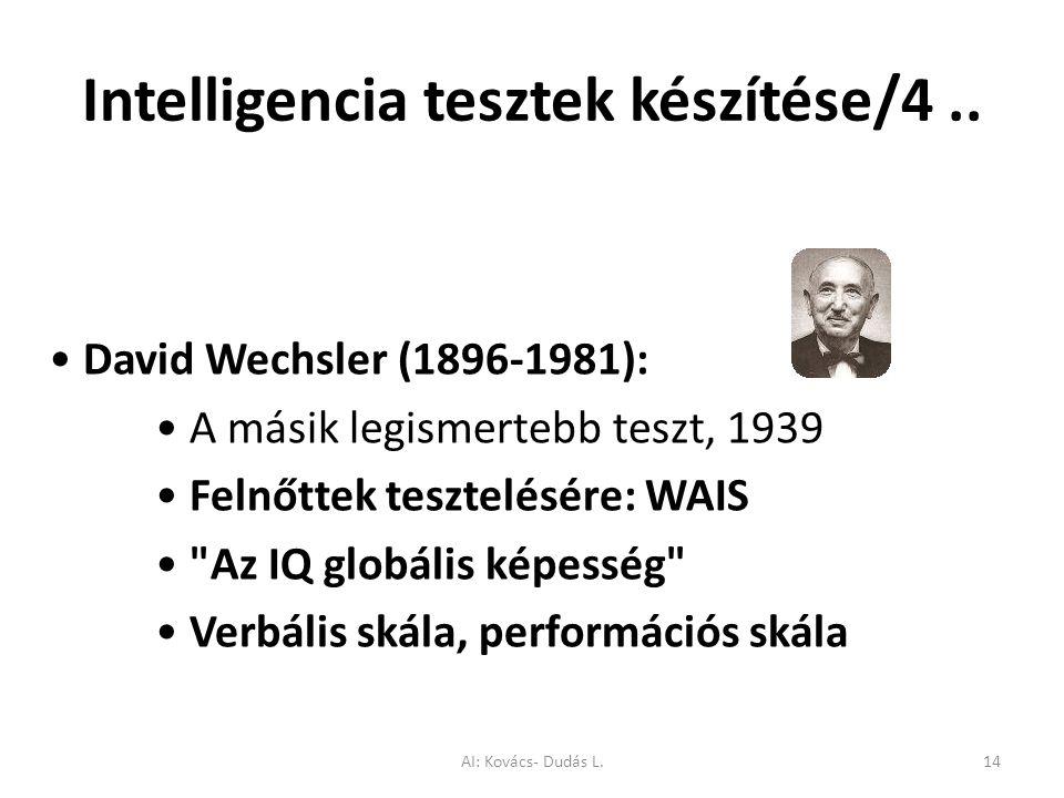 Intelligencia tesztek készítése/4 ..