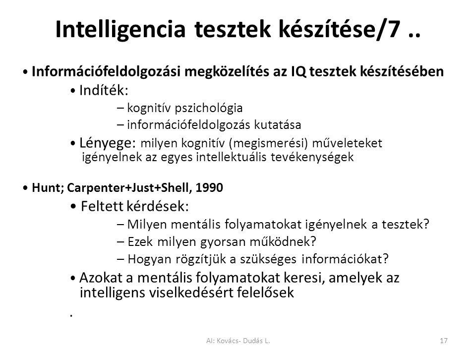 Intelligencia tesztek készítése/7 ..