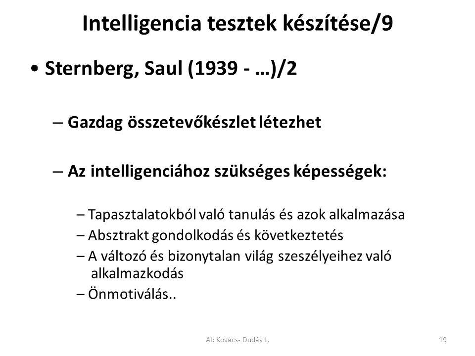 Intelligencia tesztek készítése/9