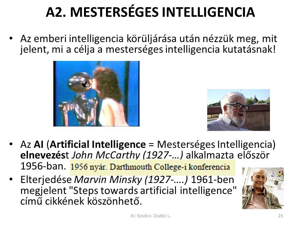A2. MESTERSÉGES INTELLIGENCIA