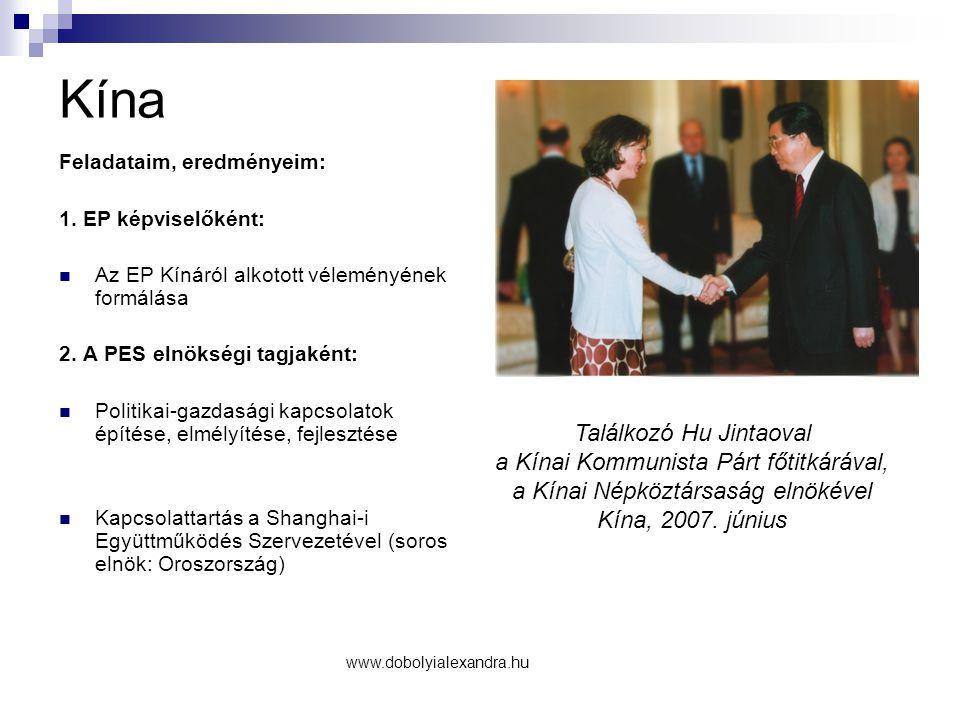 Kína Találkozó Hu Jintaoval a Kínai Kommunista Párt főtitkárával,