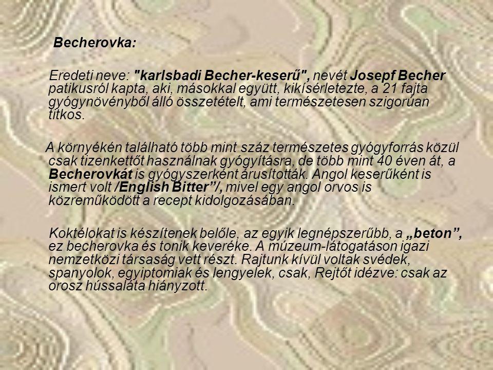 Becherovka: