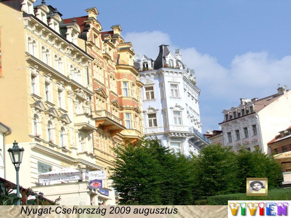 Nyugat-Csehország 2009 augusztus