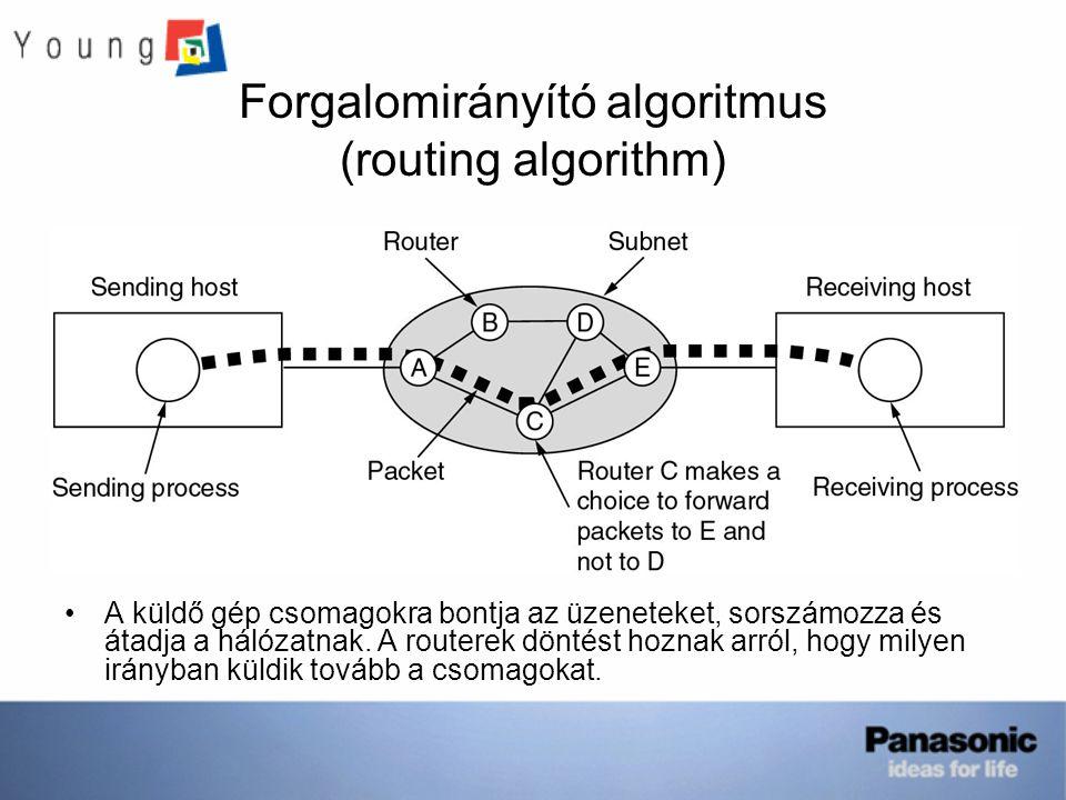 Forgalomirányító algoritmus (routing algorithm)