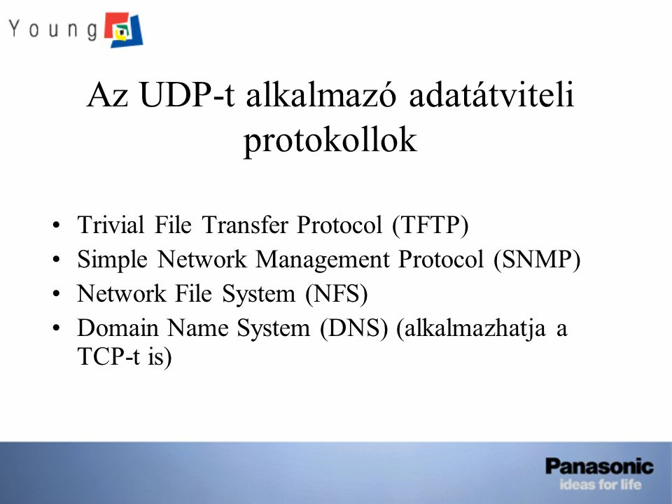 Az UDP-t alkalmazó adatátviteli protokollok