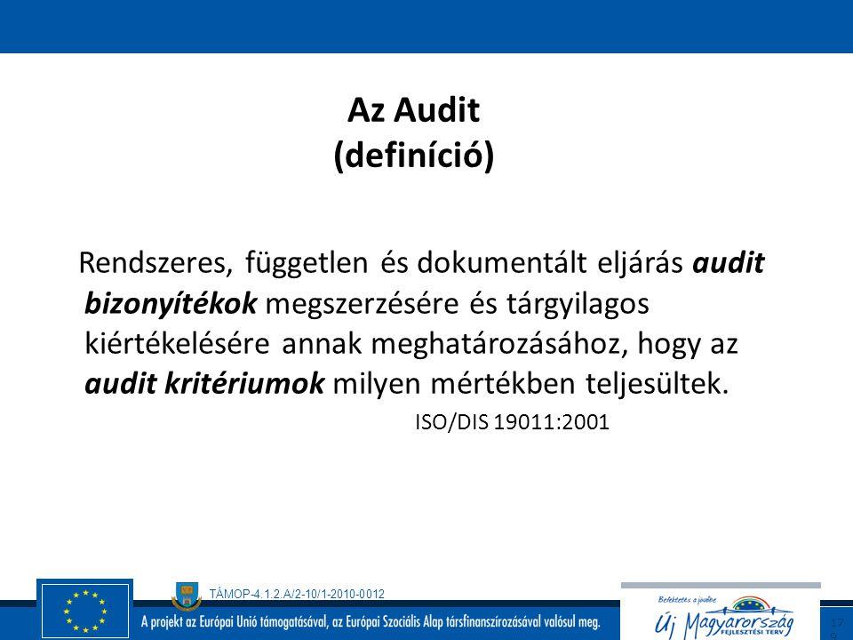 Az Audit (definíció)