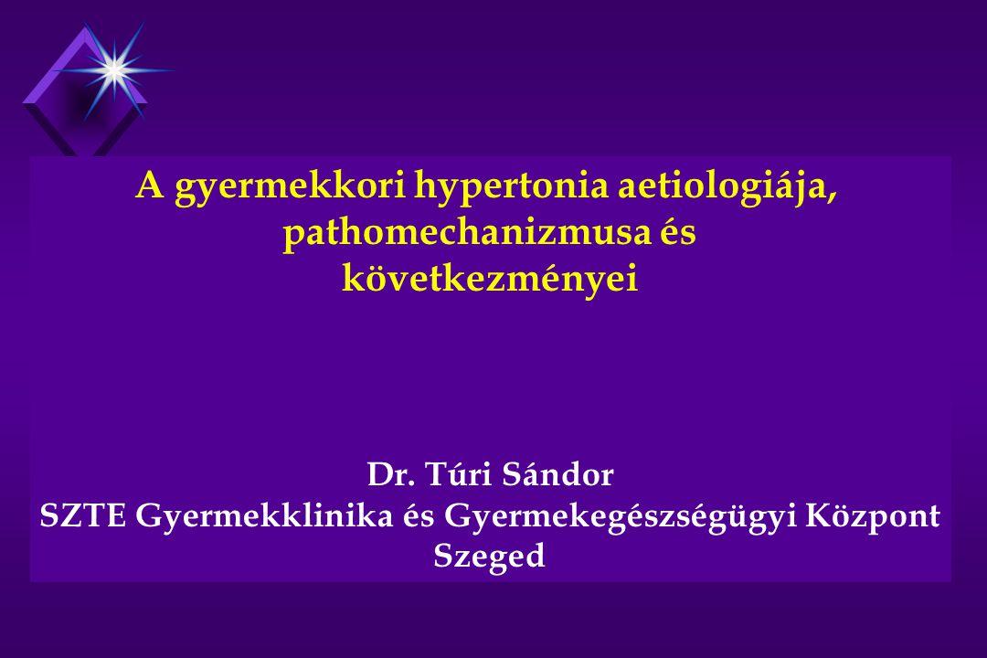 A gyermekkori hypertonia aetiologiája, pathomechanizmusa és