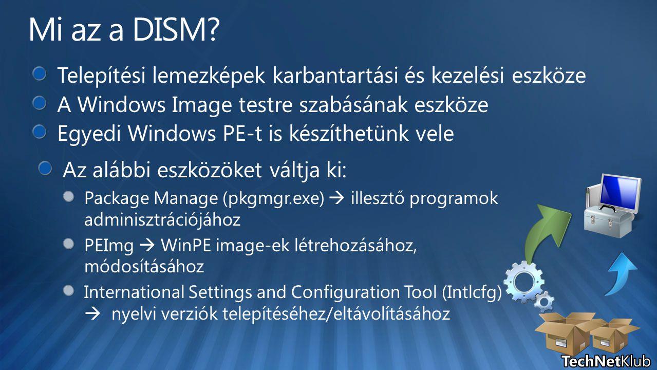 Mi az a DISM Telepítési lemezképek karbantartási és kezelési eszköze