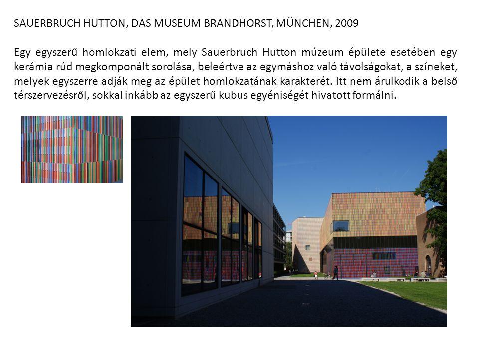 SAUERBRUCH HUTTON, DAS MUSEUM BRANDHORST, MÜNCHEN, 2009