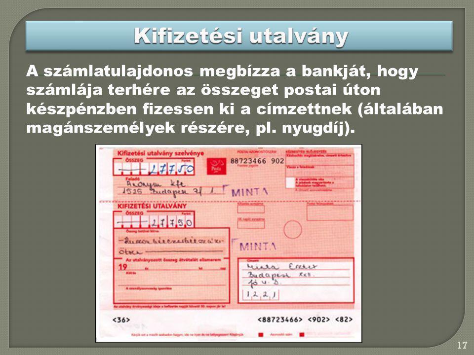 Kifizetési utalvány