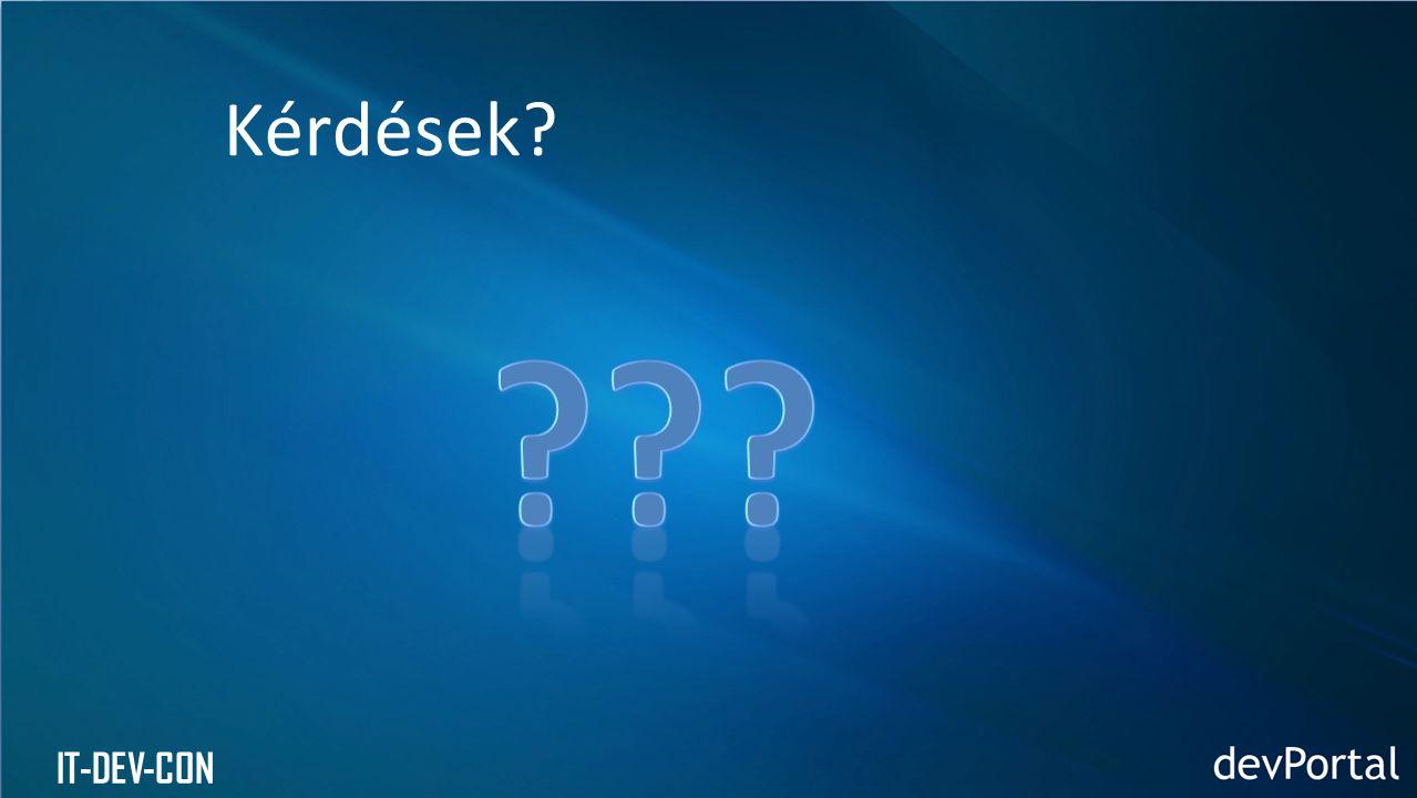 Kérdések IT-DEV-CON