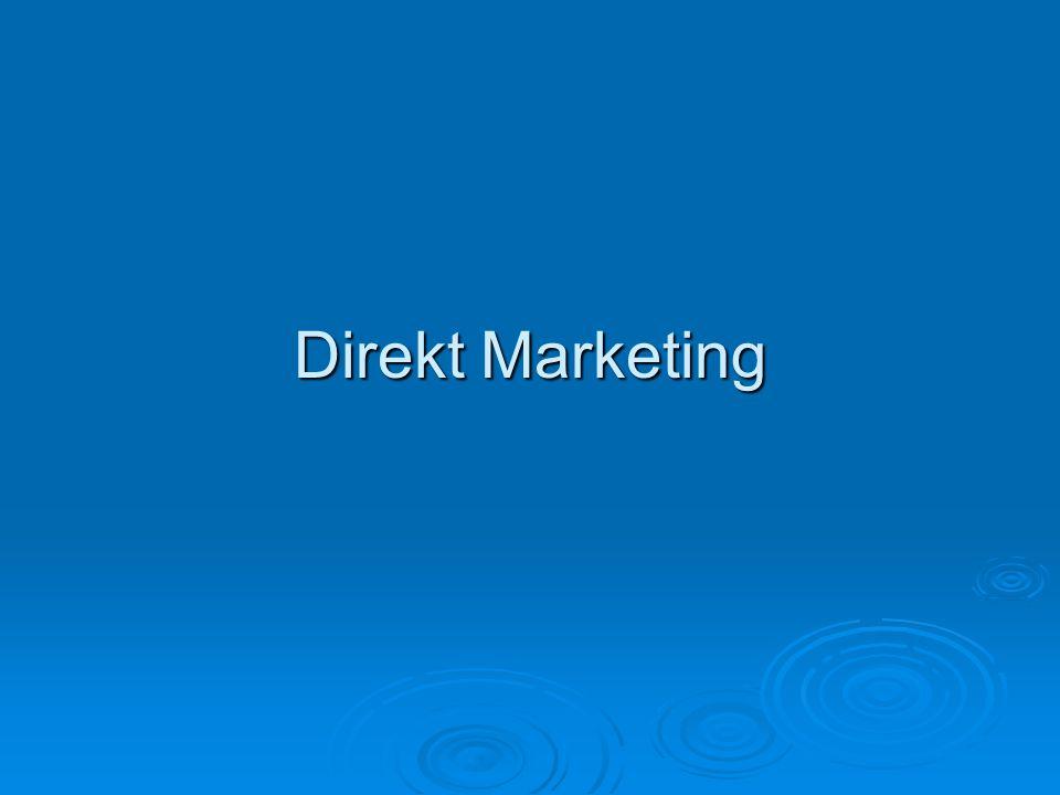 Direkt Marketing