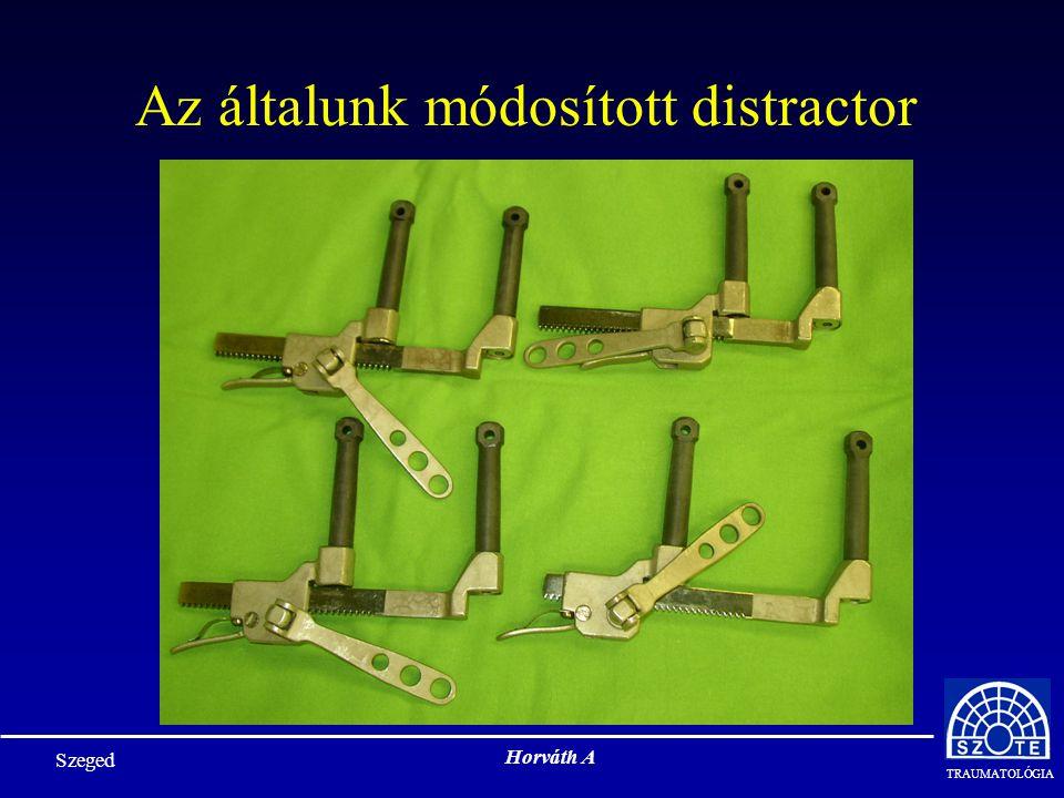 Az általunk módosított distractor
