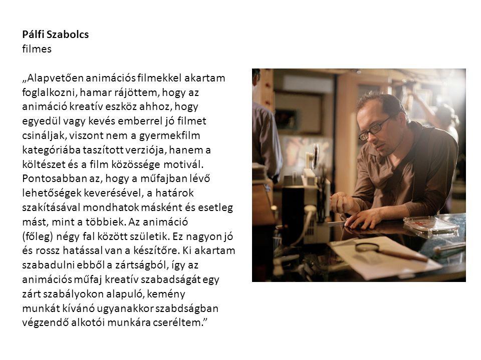 Pálfi Szabolcs filmes.