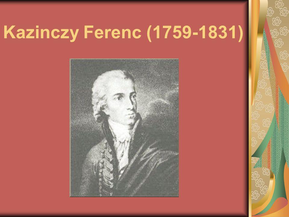 Kazinczy Ferenc (1759-1831)