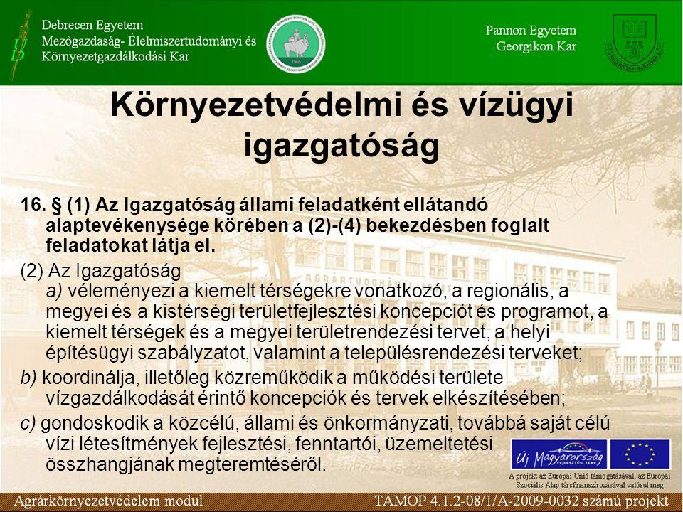 Környezetvédelmi és vízügyi igazgatóság