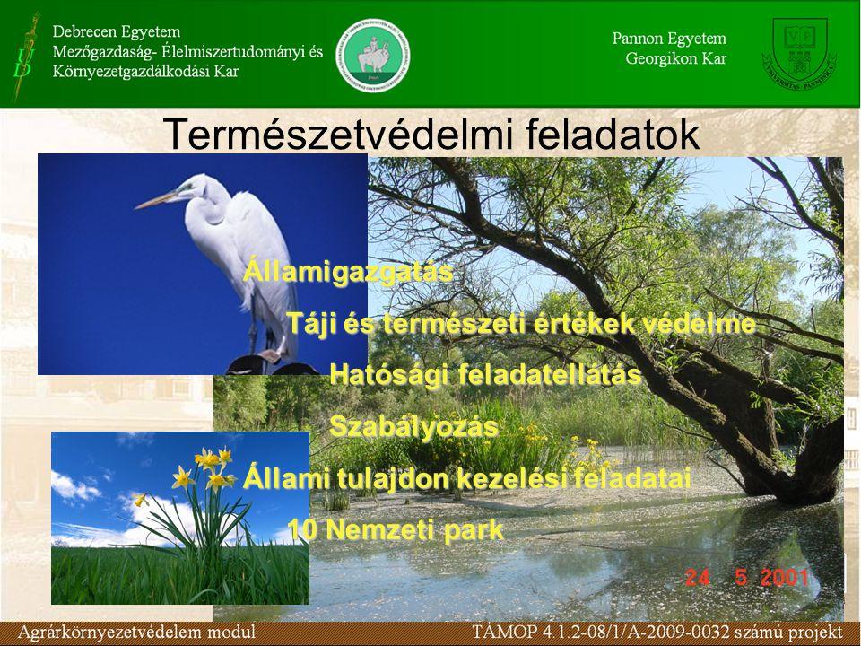 Természetvédelmi feladatok