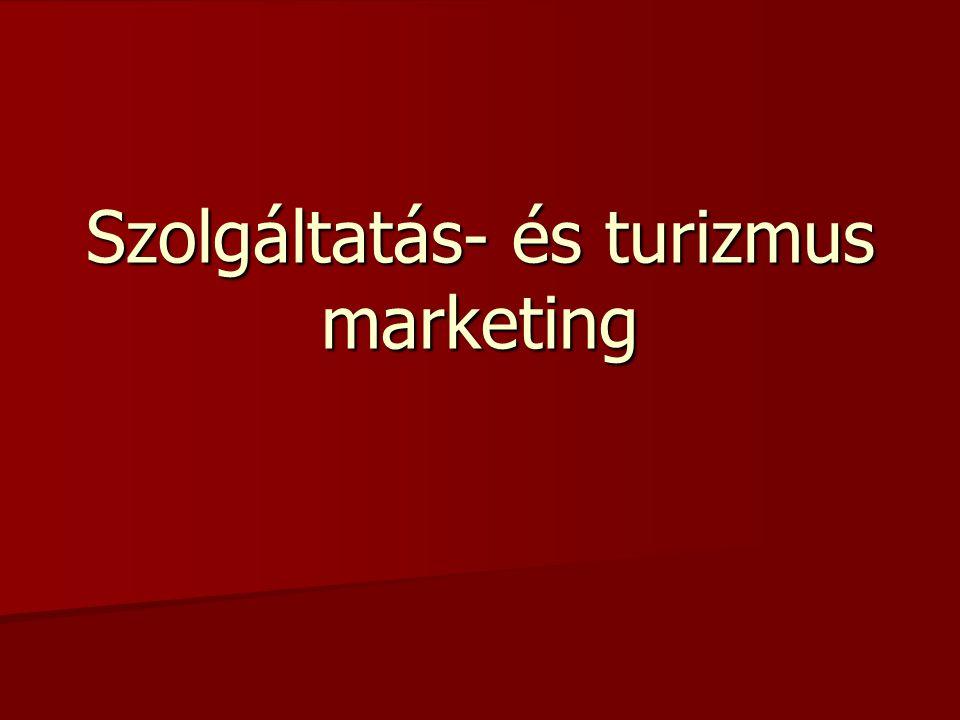 Szolgáltatás- és turizmus marketing