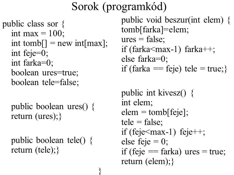 Sorok (programkód)