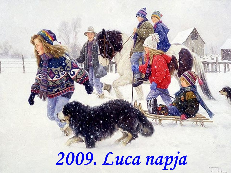 2009. Luca napja