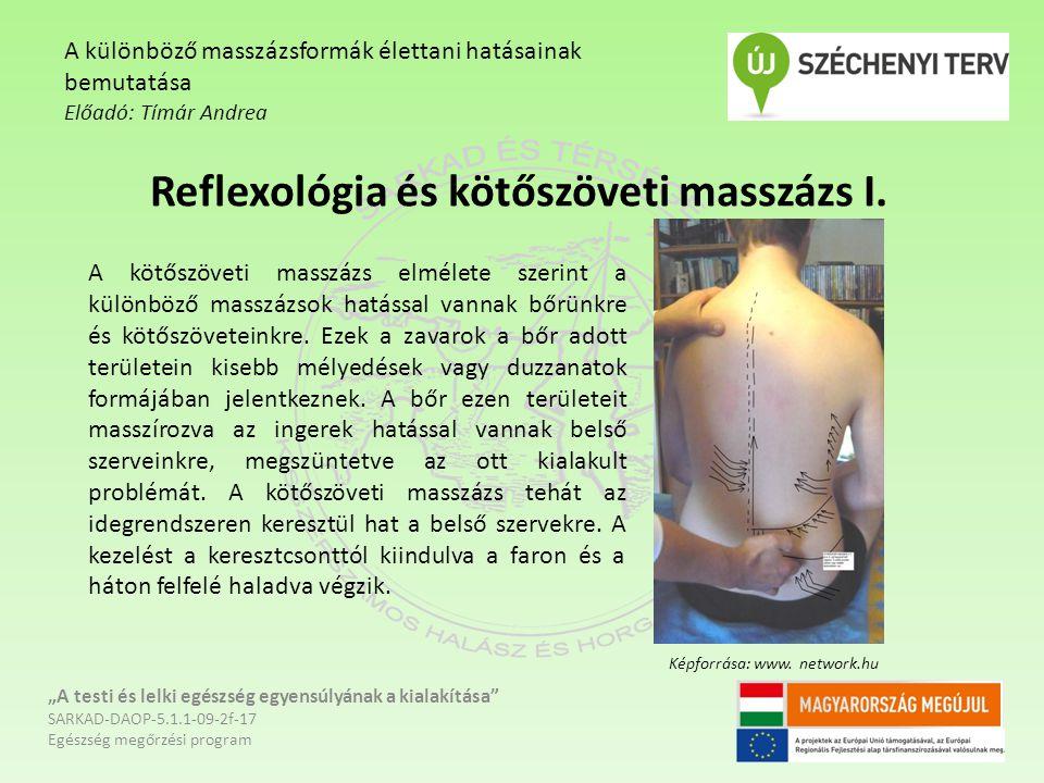Reflexológia és kötőszöveti masszázs I.