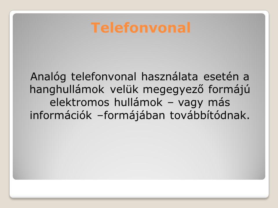Telefonvonal