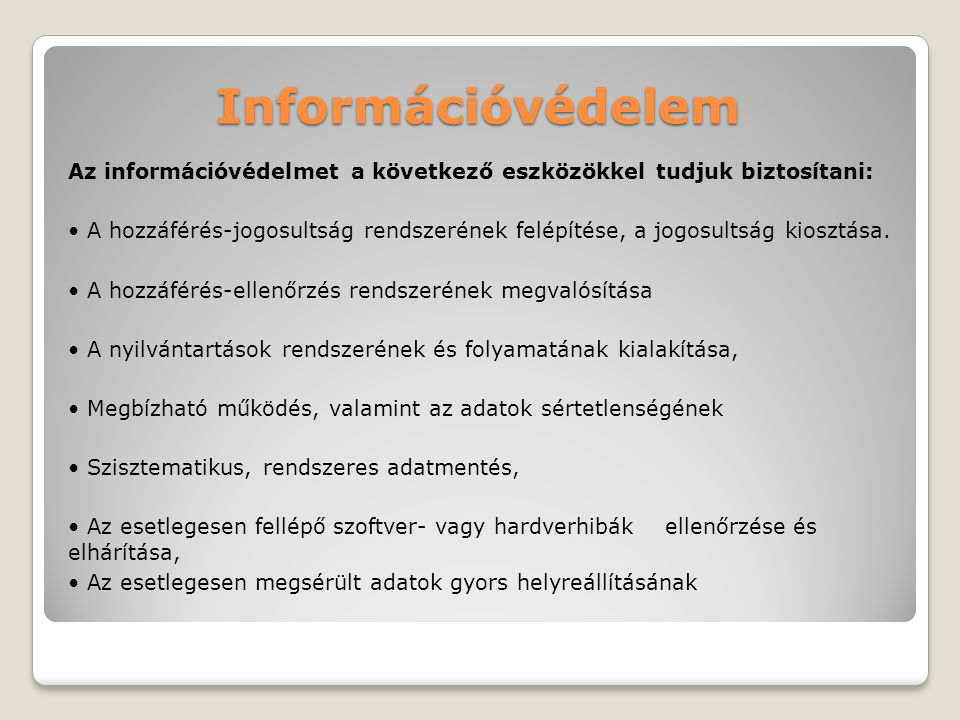 Információvédelem