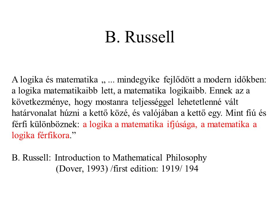 B. Russell