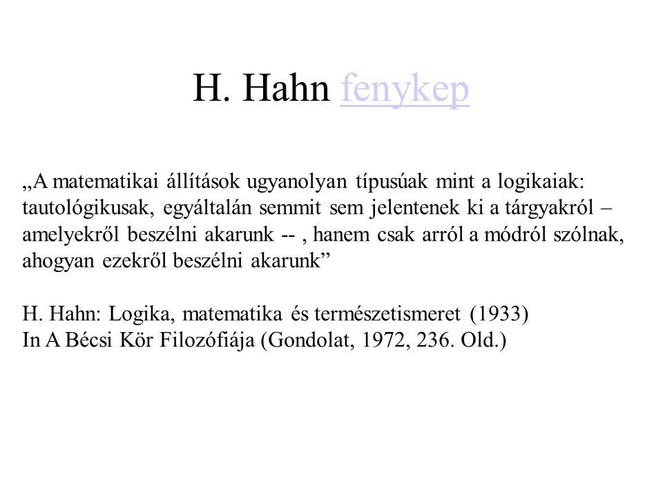 H. Hahn fenykep